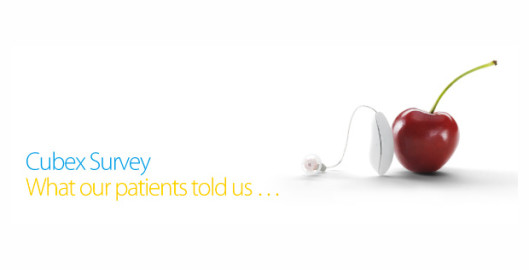 cubex survey what our patients told us