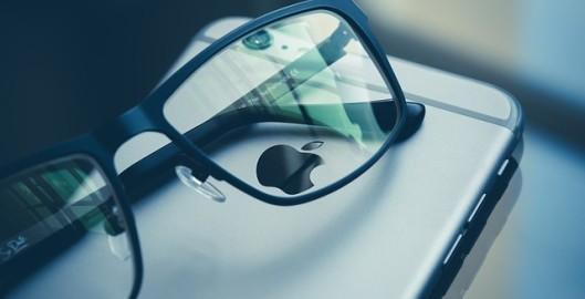 eye glasses apple iphone