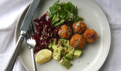 food for brains recipe sweet potato and quinoa falafels